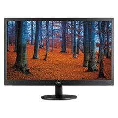 "TFT Active Matrix LED Monitor, 19"", 16:9 Aspect Ratio"