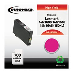 Remanufactured 14N1609 (150XL) High-Yield Ink, Magenta