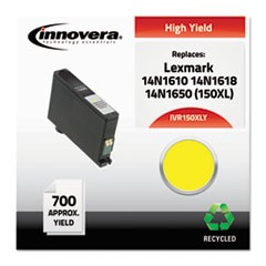Remanufactured 14N1610 (150XL) High-Yield Ink, Yellow