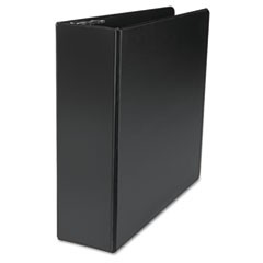"D-Ring Binder, 3"" Capacity, 8-1/2 x 11, Black"