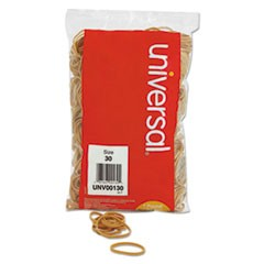 Rubber Bands, Size 30, 2 x 1/8, 1100 Bands/1lb Pack