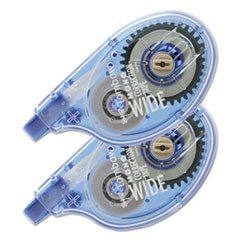 "MONO Wide-Width Correction Tape, Non-Refillable, 1/4"" x 394"", 2/Pack"