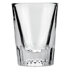 Whiskey Shot Glass, 2 oz, Clear, 48/Carton