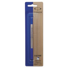 Refill for Parker Roller Ball Pens, Fine Point, Blue Ink