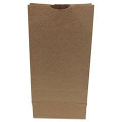 #10 Paper Grocery Bag, 50lb Kraft, Heavy-Duty 6 5/16 x4 3/16 x13 3/8, 500 bags