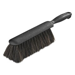 "Counter/Radiator Brush, Horsehair Blend, 8"" Brush, 5"" Handle, Black"