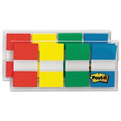Page Flags in Portable Dispenser, Assorted Primary, 160 Flags/Dispenser
