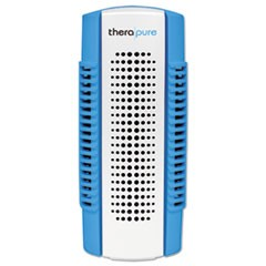 Mini Plug-In Collection Blade Air Purifier, One Speed, Blue