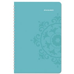 Suzani Weekly/Monthly Appointment Book, 5 1/2 x 8 1/2, 2016