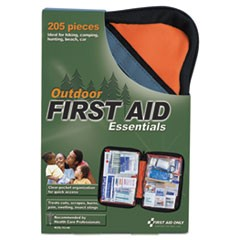 Outdoor Softsided First Aid Kit for 10 People, 205 Pieces/Kit