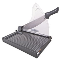 Heavy-Duty Low Force Guillotine Trimmer, 40 Sheets, Metal Base, 10 1/2 x 17 1/2
