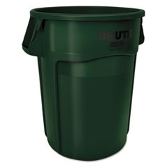 Brute Round Containers, 44 gallon, Dark Green