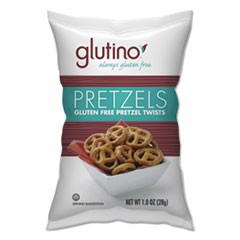 Gluten Free Pretzels, 1 oz Bag, 8/Box