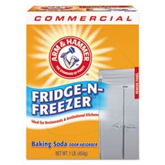 Fridge-n-Freezer Pack Baking Soda, Unscented, 16 oz, Powder