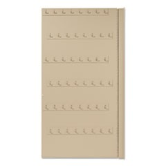 FOB Key 90 Hook Insert Panel, Steel, Sand