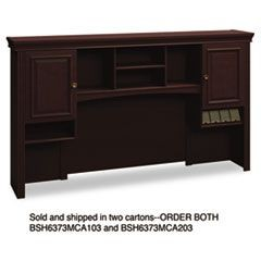 Syndicate Collection Tall Hutch, (Box 2 of 2), Mocha Cherry
