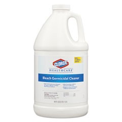Hospital Cleaner Disinfectant w/Bleach, 2qt Refill