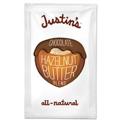 Chocolate Almond/Hazelnut Butter, 1.15 oz Squeeze Pack, 10/Box