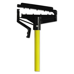 "Quick-Change Mop Handle, 60"", Fiberglass, Yellow"