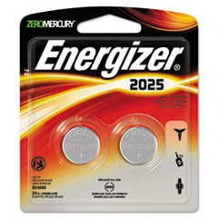 Watch/Electronic/Specialty Battery, 2025, 3V, 2/Pack
