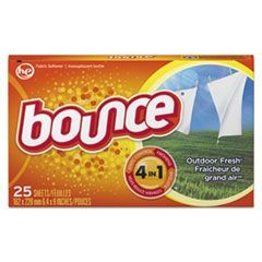 Fabric Softener Sheets, 25 Sheets/Box, 15 Boxes/Carton