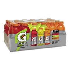 G-Series Perform 02 Thirst Quencher, Variety Pack, 20 oz Bottle, 24/Carton