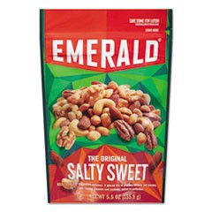 Snack Nuts, Salty Sweet Mix, 5.5 oz Bag, 6/Carton