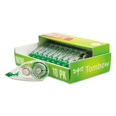 "MONO Mini Correction Tape, 1/6"" x 315"", Non-Refillable, 10/Pack"
