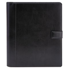 Standard Pad Holder, 8 1/2 x 11, Vinyl, Black
