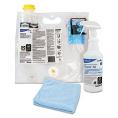 Glance NA Glass & Multi-Surface Cleaner, 0.172 L Smart Mix Pro Bag