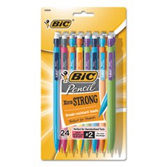 Xtra-Strong Mechanical Pencil, 0.9mm, Assorted, 24/Pack