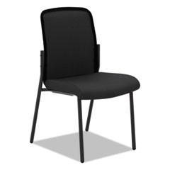 VL508 Mesh Back Multi-Purpose Chair, Black Seat/Black Back, Black Base
