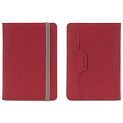 Passport Folio Case for E-Readers, L, Nylon/Microsuede, Red