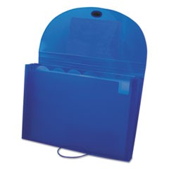 Expanding Files, Letter, 7-Pocket, Blue