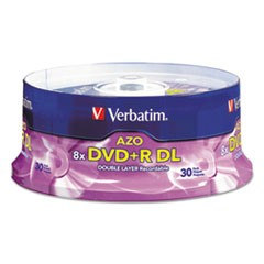 DISC,DVD+R,DL,8.5GB,30PK