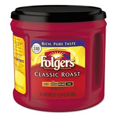Coffee, Classic Roast, Ground, 30.5 oz Canister