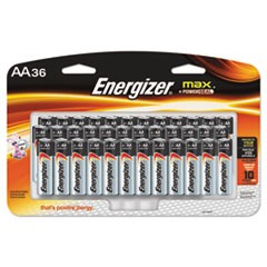 BATTERY,ENERGIZER,AA,36PK