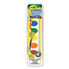 Washable Watercolor Paint, 8 Assorted Colors