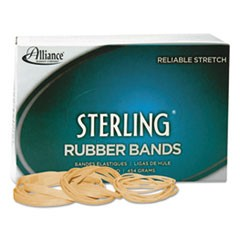 "Sterling Rubber Bands, Size 10, 0.03"" Gauge, Crepe, 1 lb Box, 5,000/Box"