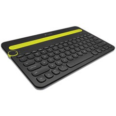 K480 Wireless Multi-Device Keyboard, Bluetooth, Black