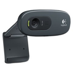 C270 HD Webcam, 1280 pixels x 720 pixels, 1 Mpixel, Black