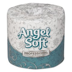 Angel Soft ps Premium Bathroom Tissue, 450 Sheets/Roll, 20 Rolls/Carton