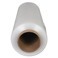 "Handwrap Stretch Film, 14"" x 1500ft Roll, 20mic (80-Gauge), 4/Carton"