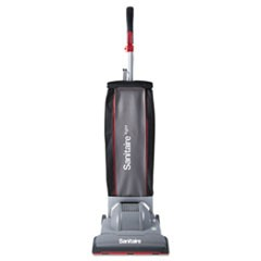 DuraLite Commercial Upright, 10.7 lbs, Gray/Red