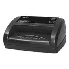 Portable Four-Way Counterfeit Detector, 5 x 3 1/2 x 2 3/8, Black