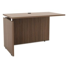 Sedina Series Reversible Return/Bridge, 42w x 23 5/8d x 29 1/2h, Walnut