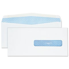 Security Tinted Insurance Claim Form Envelope, Commercial Flap, Redi-Seal Closure, 4.5 x 9.5, White, 500/Box