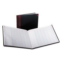 Columnar Accounting Book, 12 Column, Black Cover, 150 Pages, 15 1/8 x 12 7/8