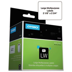 LabelWriter Multipurpose Labels, 1 x 1, White, 750 Labels/Roll