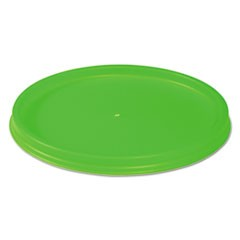 Biodegradable Lids for Vio Food Containers, EPS, Green, 1000/Carton